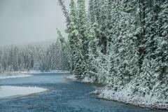 Winter-River-near-Banff-AB